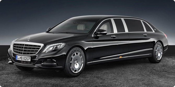 Mercedes Maybach s600 Pullman Guard